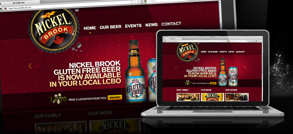 Nickel Brook Website