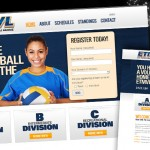Volleyball League Website
