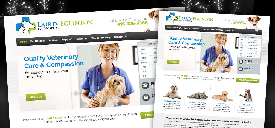 Vet Clinic Website