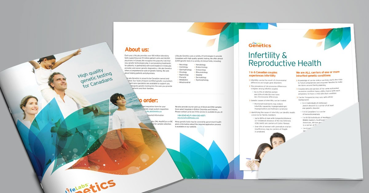 LifeLabs Genetics Folder