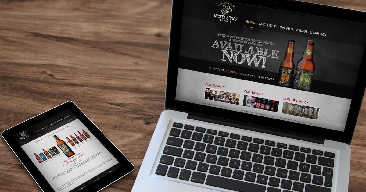 Nickel Brook Website